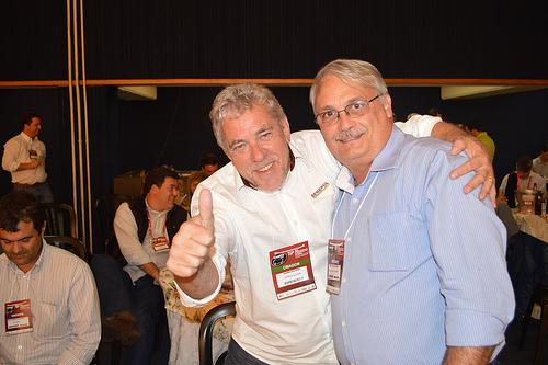 Gilmar e José Alexandre Cunha Melo.